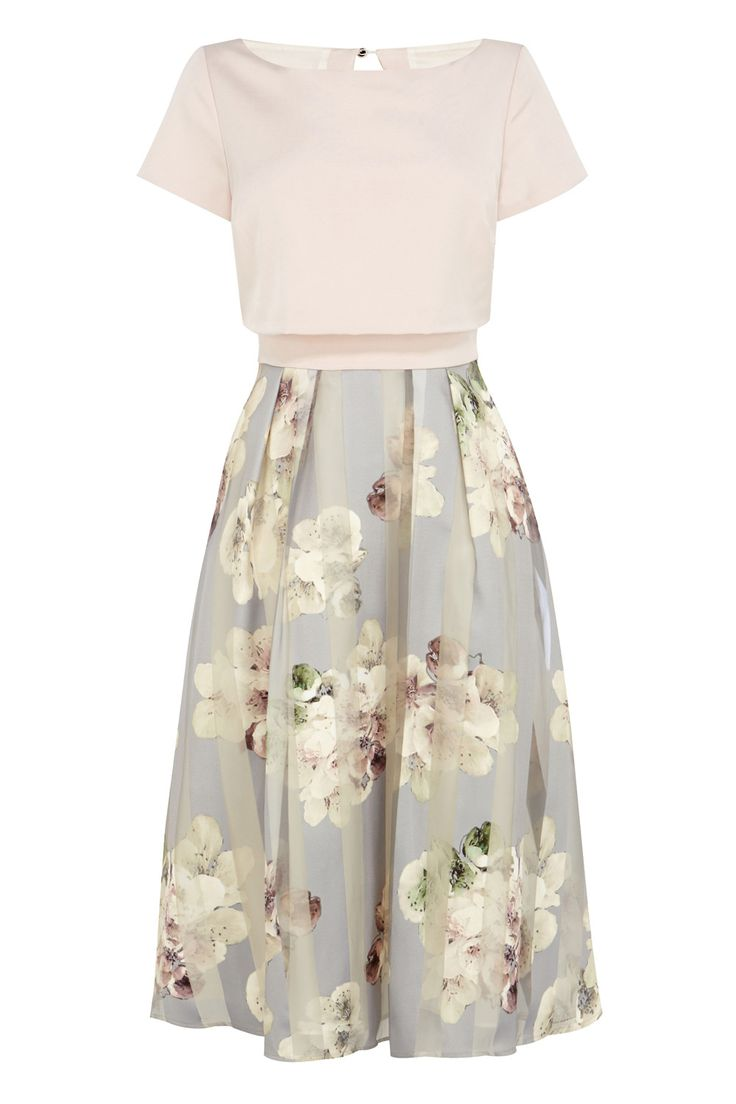 BREA FLORAL STRIPE DRESS http://www.weddingheart.co.uk/coast--mother-of-bride.html