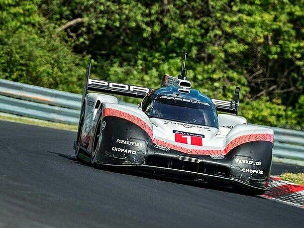 Porsche Sets New Nurburgring Record Porsche Works Driver Timo