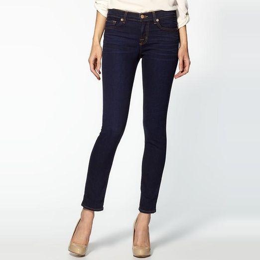 Rank & Style Top Ten Lists   J Brand 811 Mid Rise Dark Skinny Jeans #rankandstyle