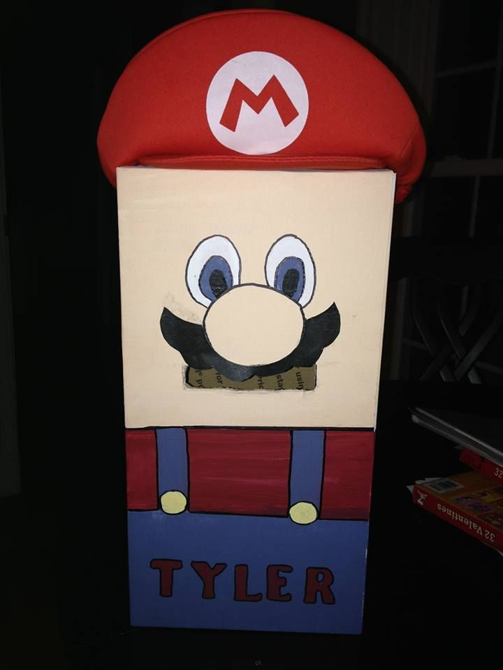 Valentine's Box - Super Mario!!