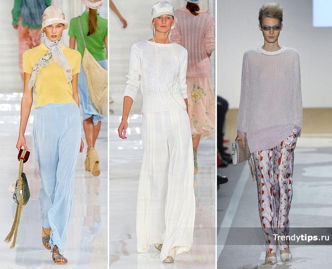 С чем носить брюки, Ralf_Lauren_Diane_Von_Ferstenberg