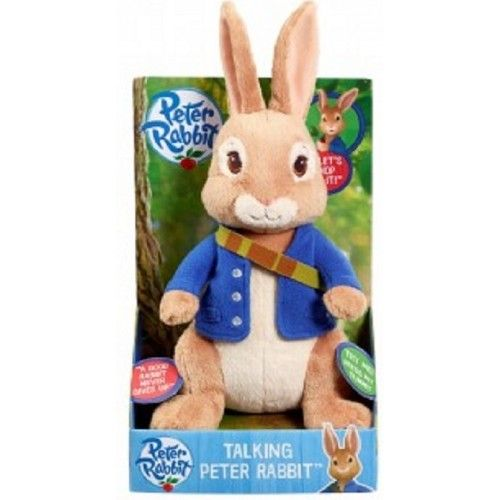 Talking Peter Rabbit Soft Toy Plush