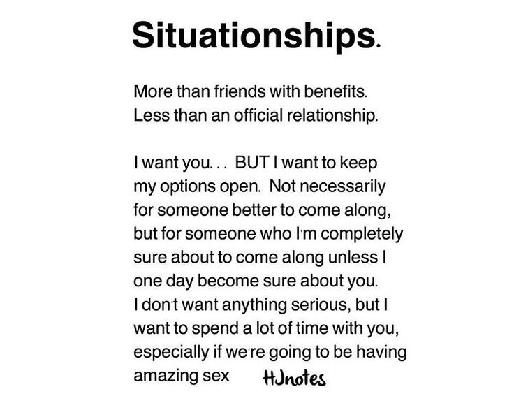 Situationship - difficult to deal with !!