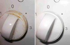 Как легко и очень быстро очистить ручки плиты от жира и грязи