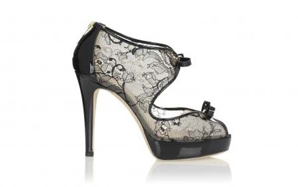 Black lace shoes | black lace-inspired line for the Burlesque » Ballin shoes, black lace ...