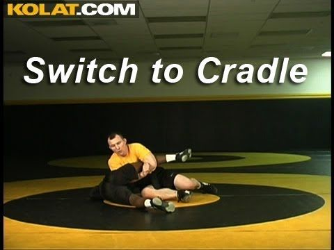 Switch Defense to Top Leg Cradle KOLAT.COM Wrestling Techniques Moves In...