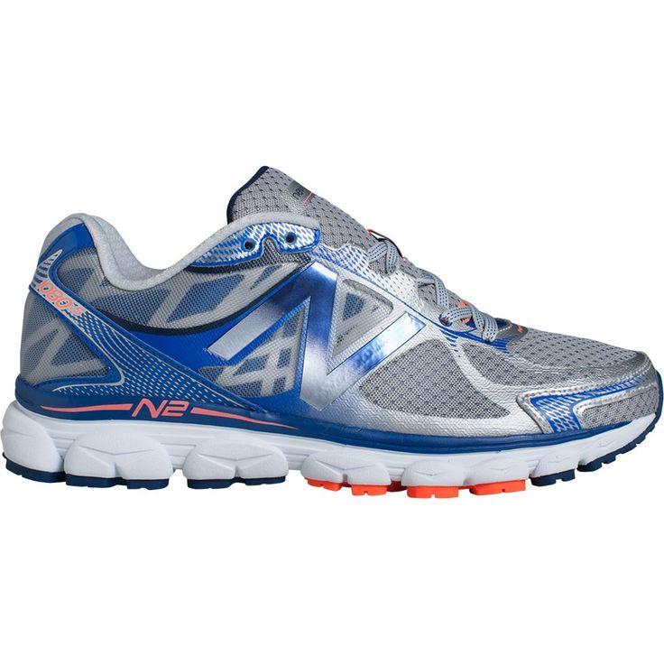 Chaussures de running Chaussures de running New Balance 1080v5 Grise et Bleue pour Homme