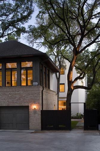 bridlepath cabana - modern - exterior - austin - Hugh Jefferson Randolph Architects