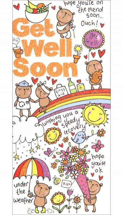 Get well card - 'Speedy Recovery'