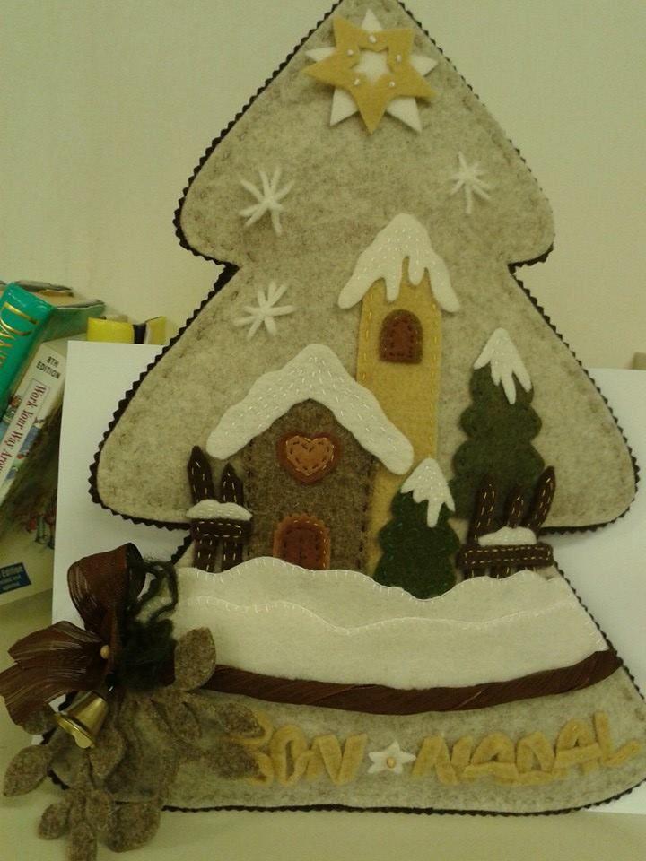 Albero di Natale in Feltro - by Luisa Valent