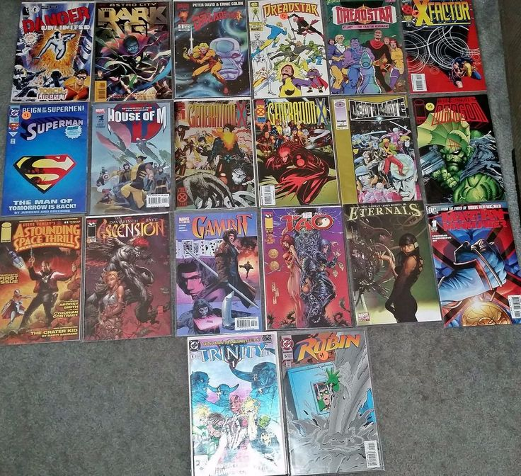 Various DC Marvel Image Comics - Lot of 20 - #1 Issues!  NM!
