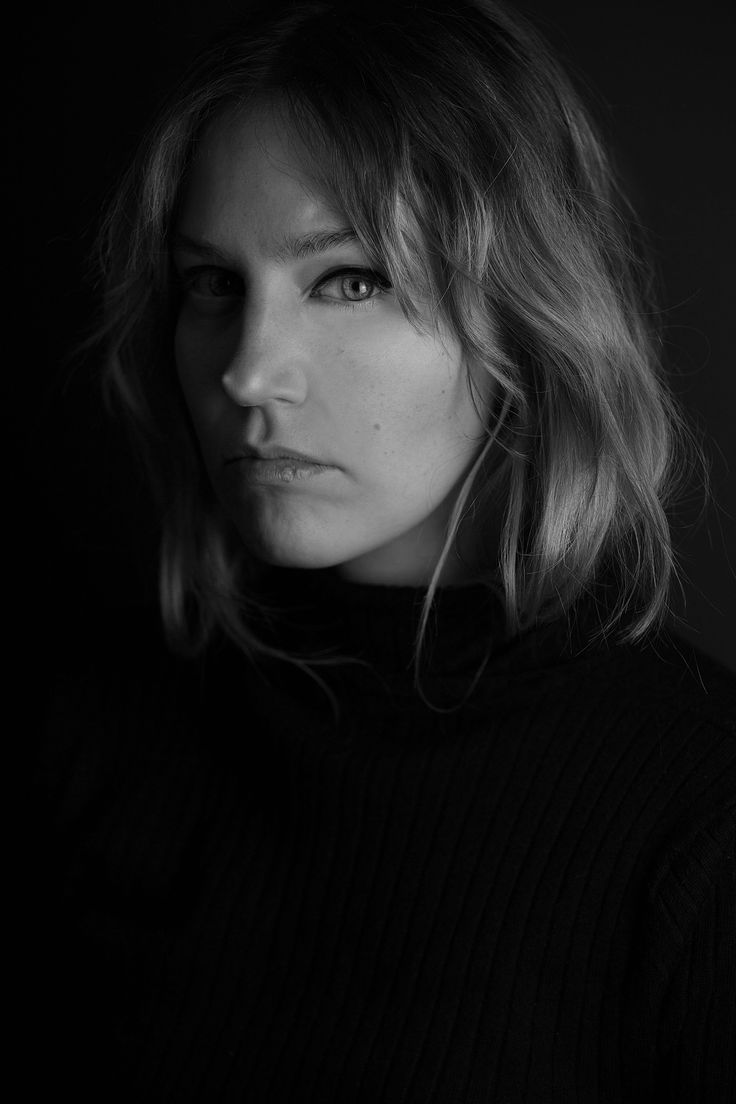 Black and white is always a good choice. Portrait photography of my dear friend Sara