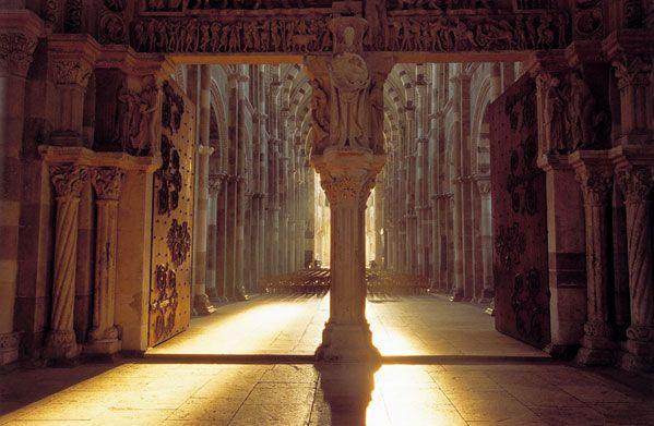 Peace, energy, light...  Abbaye de Vézelay, France.