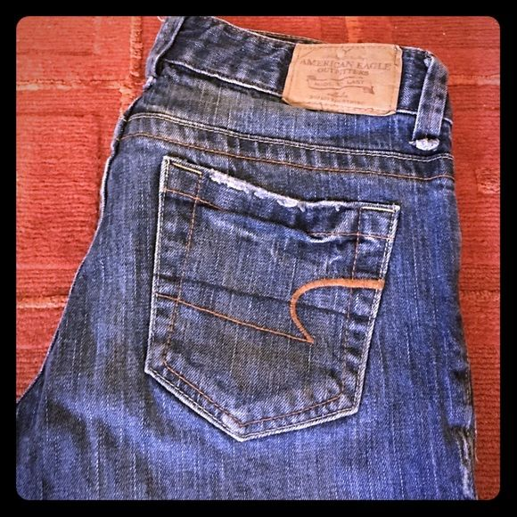 American Eagle Jeans Used but still have tons of life! Some signs of  distressing but