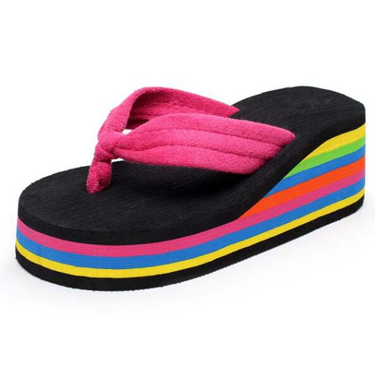 $7.50 (Buy here: https://alitems.com/g/1e8d114494ebda23ff8b16525dc3e8/?i=5&ulp=https%3A%2F%2Fwww.aliexpress.com%2Fitem%2FRainbow-Travel-Casual-Sandals-Women-Summer-New-American-European-Style-Slippers-Home-Fashion-Girls-Women-Like%2F32790614228.html ) Rainbow Travel Casual Sandals Women Summer New American European Style Slippers Home Fashion Girls Women Like Summer Slippers for just $7.50