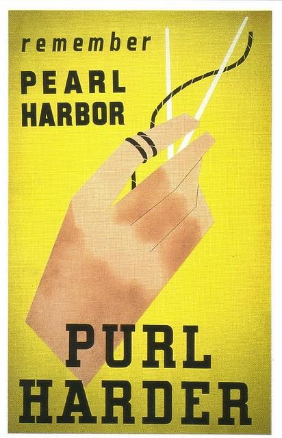 WW2 #knitting poster