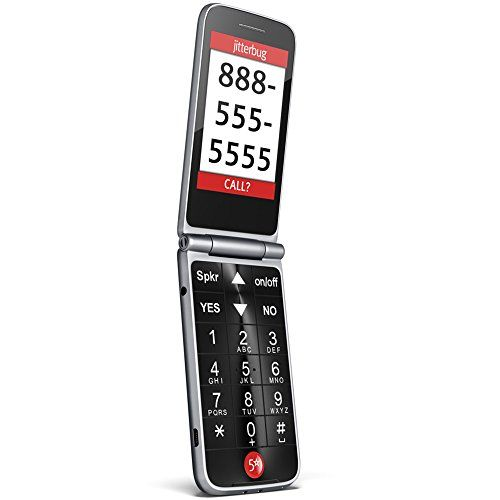 Jitterbug Flip Easy-to-Use Cell Phone for Seniors - Graph...