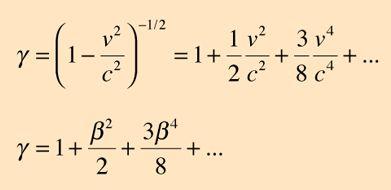 Lorentz Transformation, binomial expansion  Tão importante que vou até compartilhar 0.0