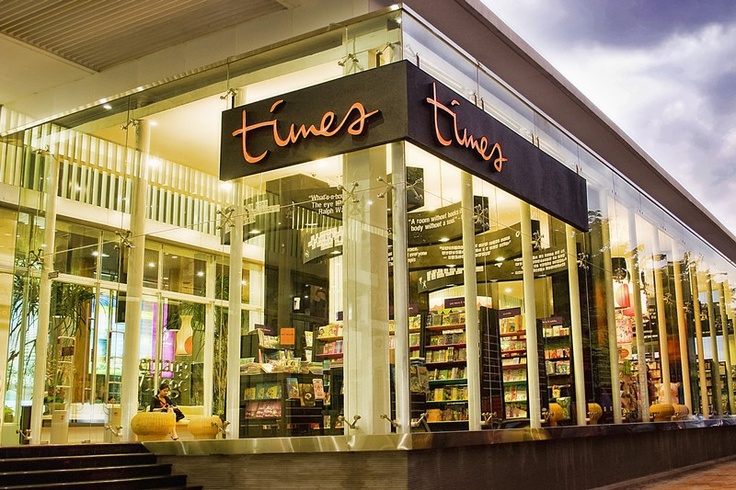 Times Bookstore Kemang Village has move...hix +_+