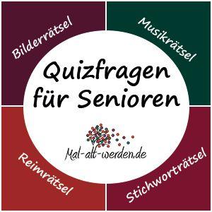 Quizfragen für Senioren – Viele kostenlose Rätsel für ein spannendes und abwechslungsreiches Gedächtnistraining