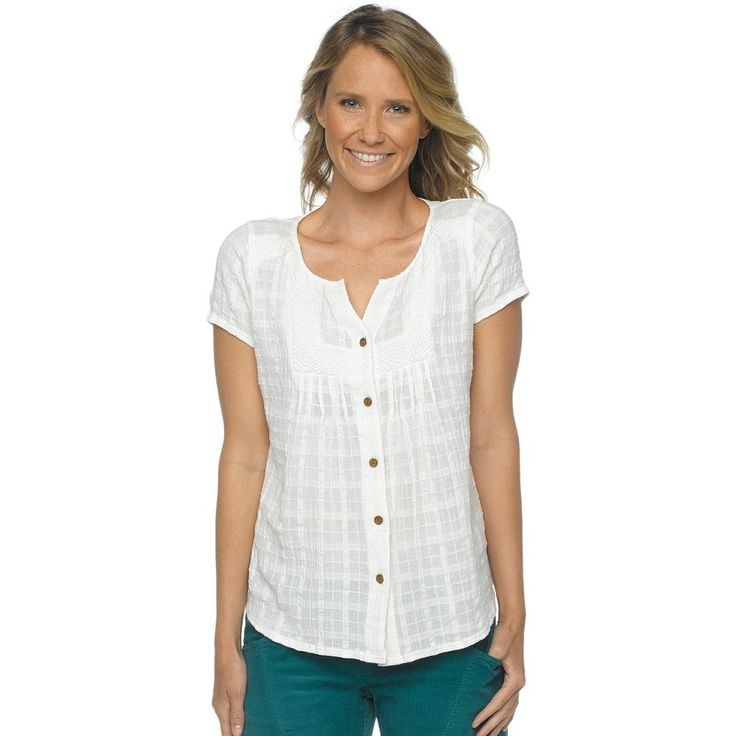 Prana Lucie Short Sleeve Top (Women's) - Mountain Equipment Co-op. Free Shipping Available