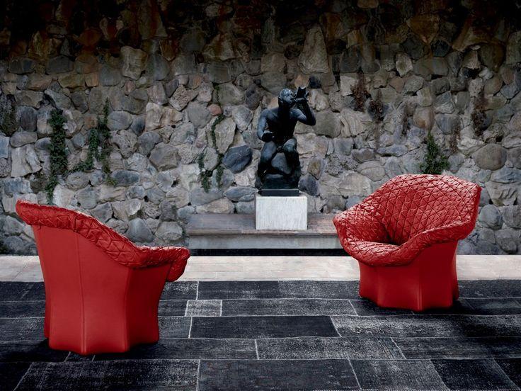 JULIET ARMCHAIR / BENJAMIN HUBERT DESIGN FOR POLTRONA FRAU   This Beautiful  Leather Armchair Called U201c