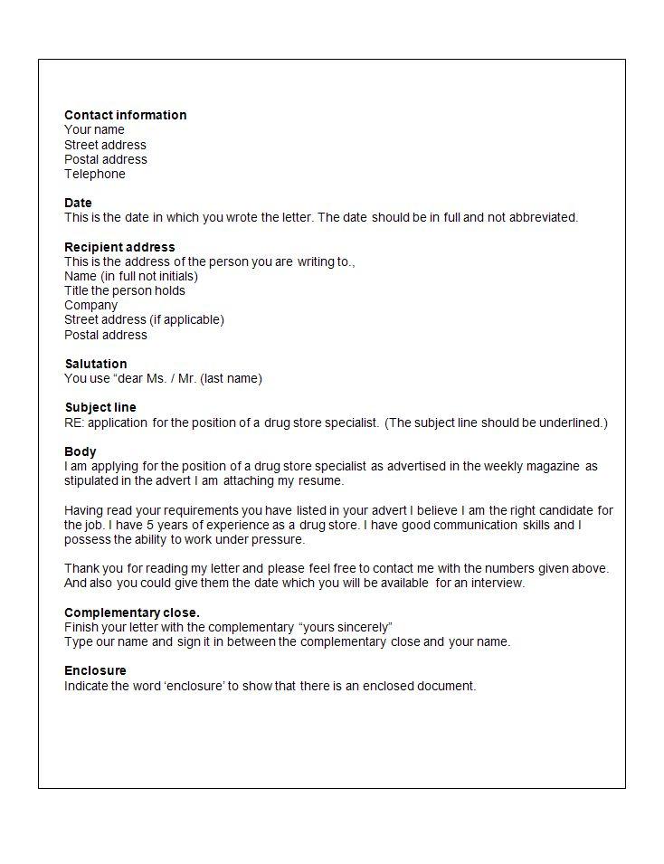 Ponad 25 najlepszych pomysłów na Pintereście na temat Application - sample application letter