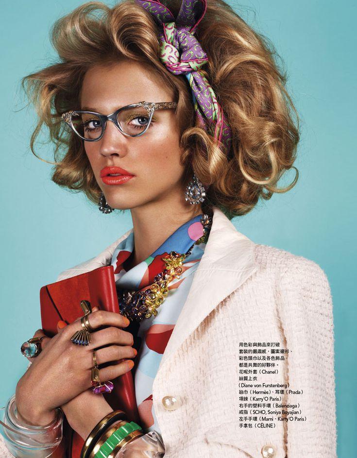 60s Hair & Makeup Editorial