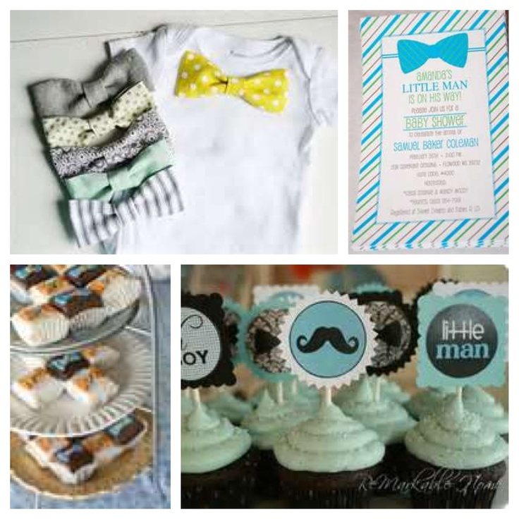 mustache bow ties and ties baby shower on pinterest bow ties baby