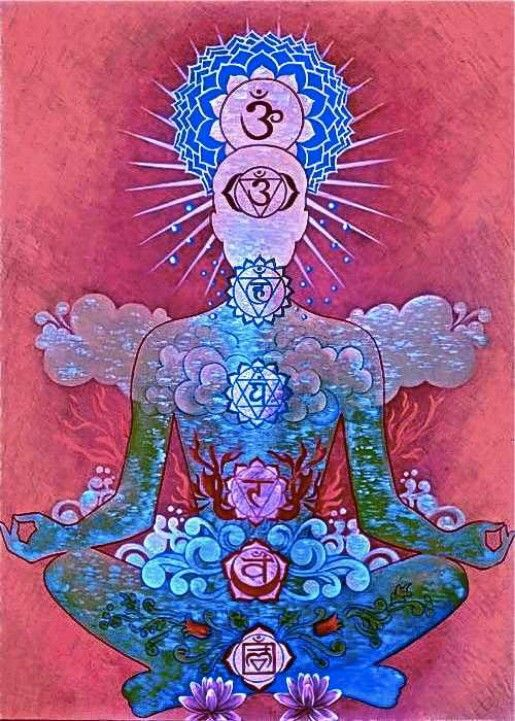Chakra art - give me a red or blue day grandfather...