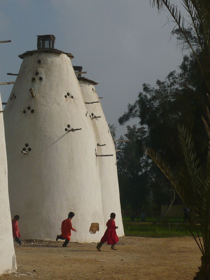 Pigeon houses in Egypt.  - Explore the World with Travel Nerd Nici, one Country at a Time. http://travelnerdnici.com