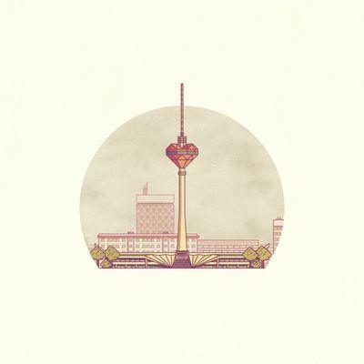 The Heart of Berlin  Art Print Get yours now!