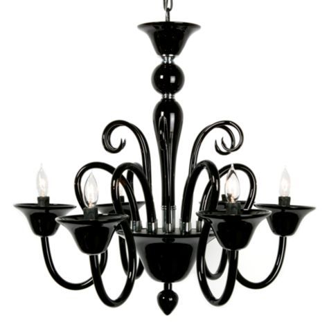 Calais Chandelier - Black from Z Gallerie, $399  #ZGallerie