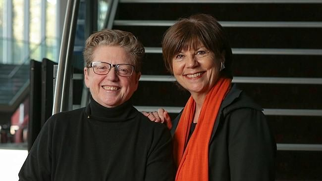 Robyn Archer, left, who will chair a masters program at the National Institute of Dramati