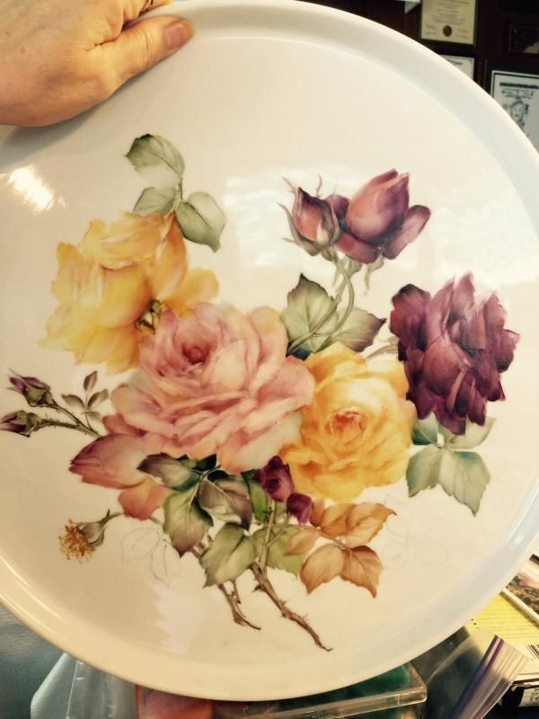 Roses Again, Learning from the Old Masters | ARTchat - Porcelain Art Plus (formerly Chatty Teachers & Artists)