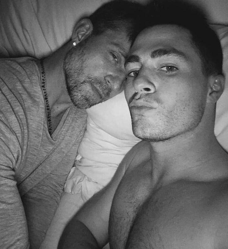 Colton and his boyfriend Jeff.