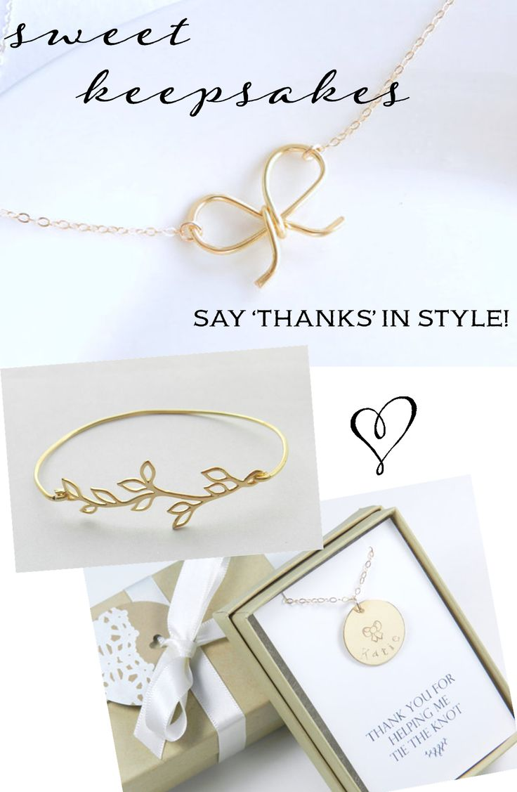 Custom Bridesmaid Gifts & Bridal Jewelry from Bip & Bop: Win a $100 Gift Card, Enter here: - www.theperfectpalette.com - Pretty & personalized
