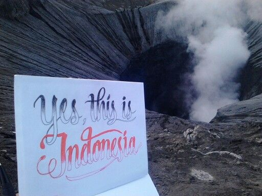 Yess, this is Indonesia!