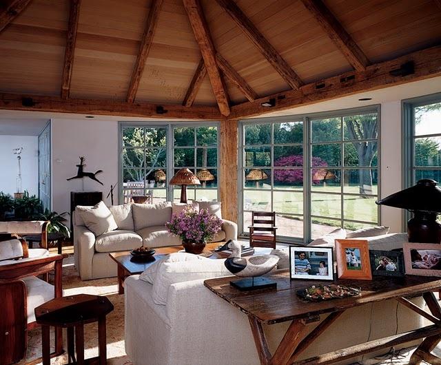 stunning east hampton living room design | Very Doable.... | Lakehouse Sitting Room | Pinterest ...