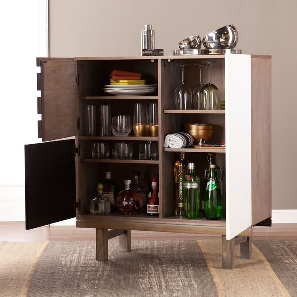 southern enterprises holly u0026 martin chaz cabinet use it as a dry bar use it for dinnerware storage however you use it the southern enterprises holly