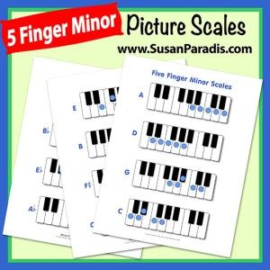 Picture Scales in All Keys - Susan Paradis Piano Teaching ResourcesSusan Paradis Piano Teaching Resources