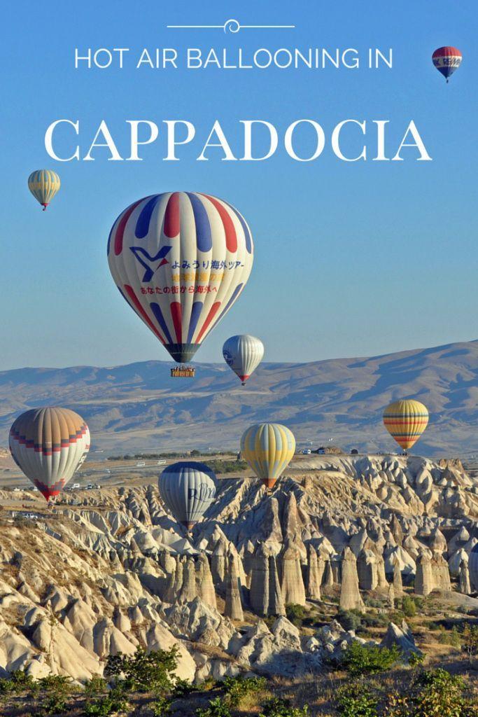 Hot Air Ballooning in Cappadocia Cappadocia, Cool places