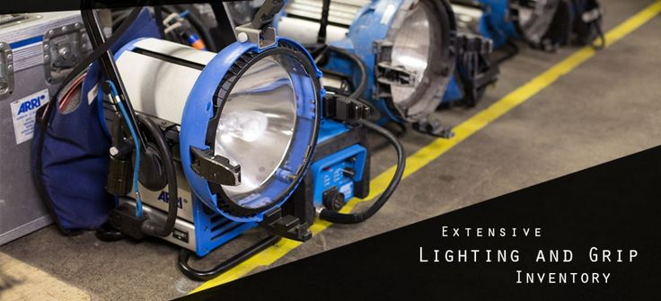 With film and television technology changing so rapidly, it's hard for us to list all our fancy new equipment on our website. If you don't see it listed, don't assume we don't have it. From professional  portable make-up mirrors, to the latest  LED lighting and beyond, we can fill any order you can dream up.