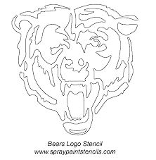 Image result for chicago bears scroll saw pattern