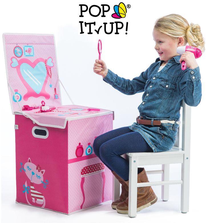 Pop It Up Güzellik Masası Oyuncak Saklama Kutusu :: Alışveriş Bankası