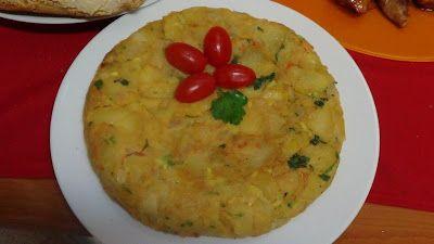 Χορτοφαγική ομελέτα (Tortilla de patata, vegana)