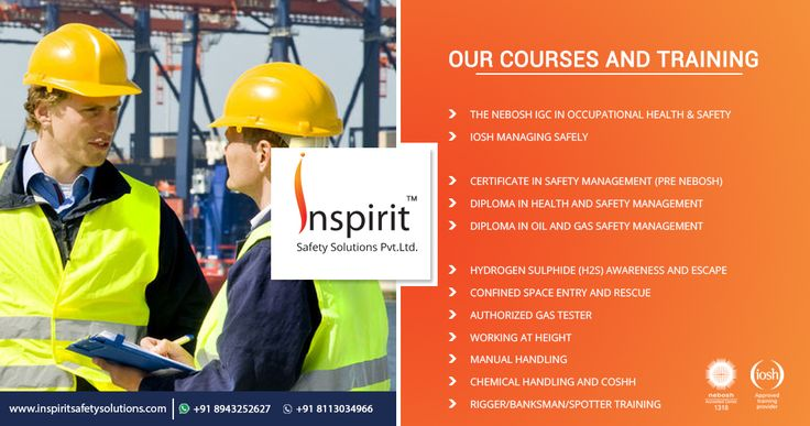 Inspirit Safety Solutions (P) Ltd was formed with a