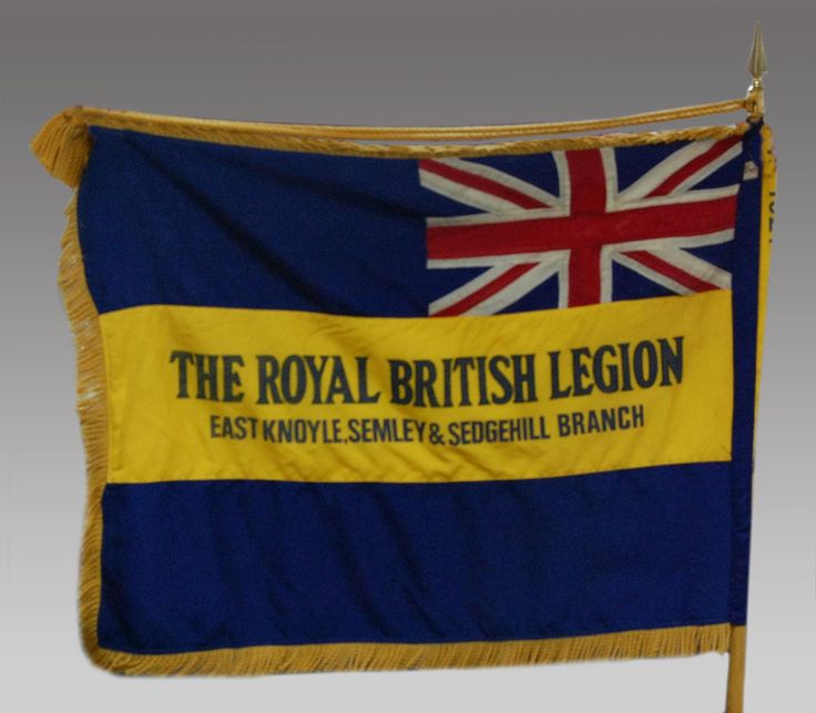 90 Year Old Antique Royal British Legion Flag
