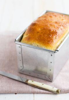 Receta de pan de molde con queso http://www.unodedos.com/recetario-de-cocina/receta-de-pan-de-molde-con-queso/