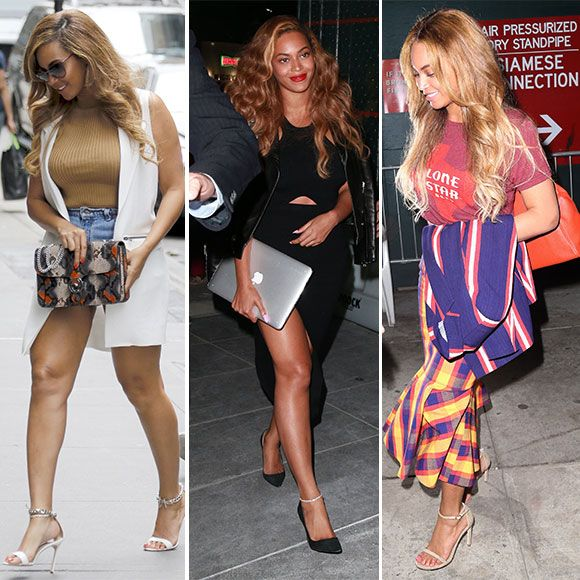 Pourquoi est-ce que Beyoncé cache son ventre ces jours-ci? | HollywoodPQ.com